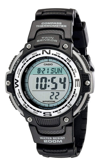 Relógio Casio Twin-sensor Sgw100-1v