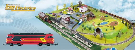 Tren Electrico Para Armar Salvat Varias Entregas Disponible