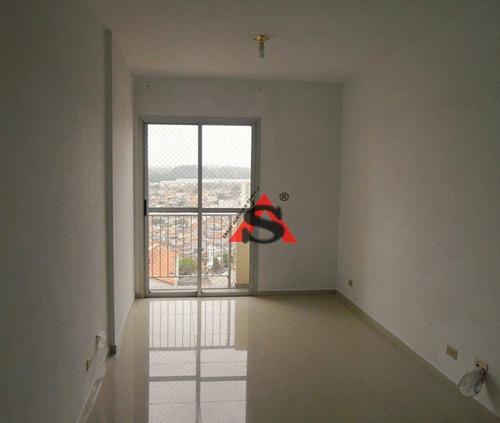 Apartamento Com 2 Dormitórios À Venda, 60 M² Por R$ 395.000,00 - Vila Guarani (zona Sul) - São Paulo/sp - Ap42785