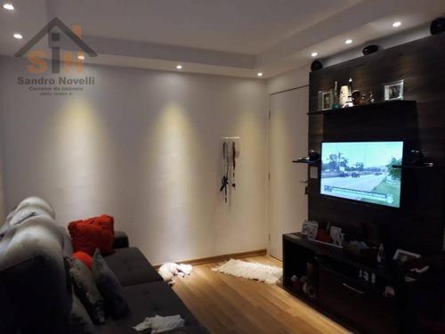 Imagem 1 de 22 de Apartamento Com 2 Dormitórios À Venda, 42 M² Por R$ 218.000,00 - Vila Alzira - Guarulhos/sp - Ap0107