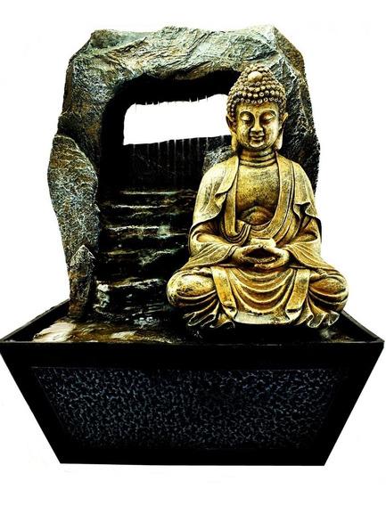Fuente De Agua Buda Feng Shui Deco Moderno Zen Relajacion Budismo Exterior Interior 306.1151006
