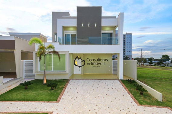 Casa Com 3 Dormitórios À Venda, 240 M² Por R$ 1.400.000 - Condomínio Villa Bella Livorno - Paulínia/sp - Ca0802