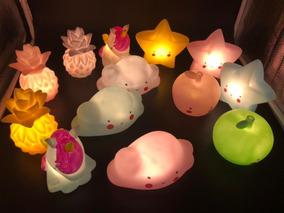 Luminária Abajur Unicórnio Led Luz Noturna Infantil Luminoso