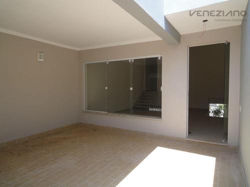 Casa Residencial À Venda, Loteamento Santa Rosa, Piracicaba. - Ca0179