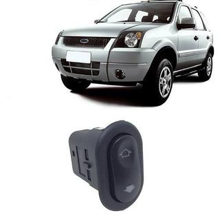 Botao Vidro Eletrico Ford Ecosport De 2003 A 2007 Dd/td/te
