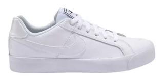 Tênis Nike Court Royale Ac Skate Passeio Branco Original Nf