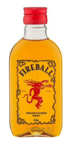 Whisky Canadiense Fireball Canela 200ml