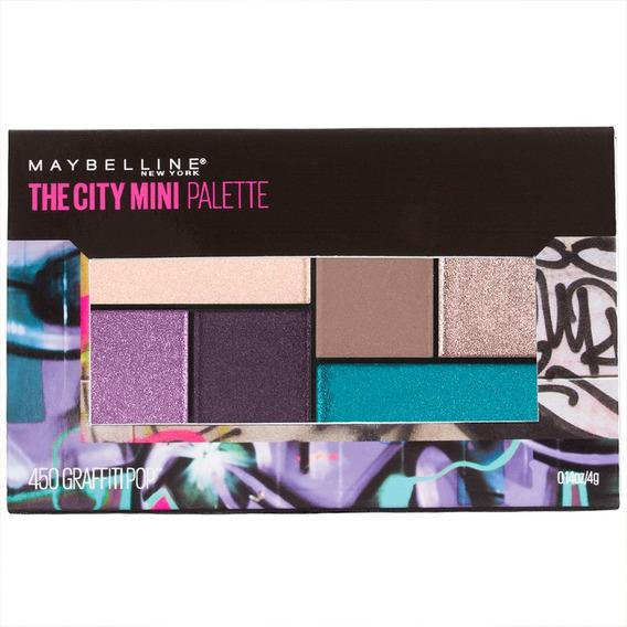 Paleta De Sombras Maquillaje Ojos City Mini Maybelline