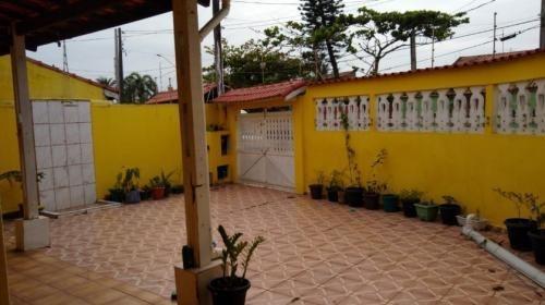 Casa No Bairro Palmeiras Com Churrasqueira Em Itanhaém -7913