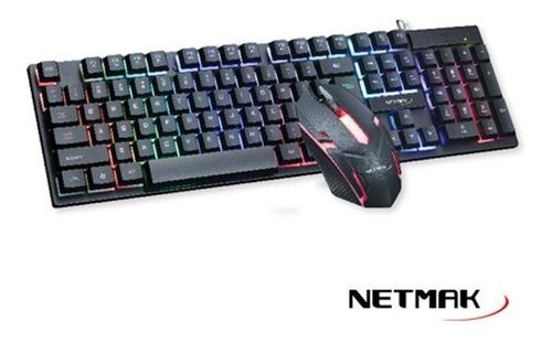 Combo Teclado + Mouse Nemesis Netmak - Area Uno