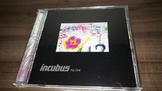 Cd + Dvd Incubus Hq Live Importado Novo Deslacrado