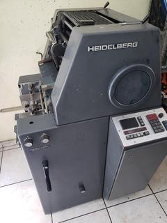 Maquina Offset Heidelberg Tok Trabajando Usada
