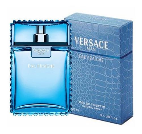 Perfume Eau Fraiche De Versace Para Caballero 100 Ml