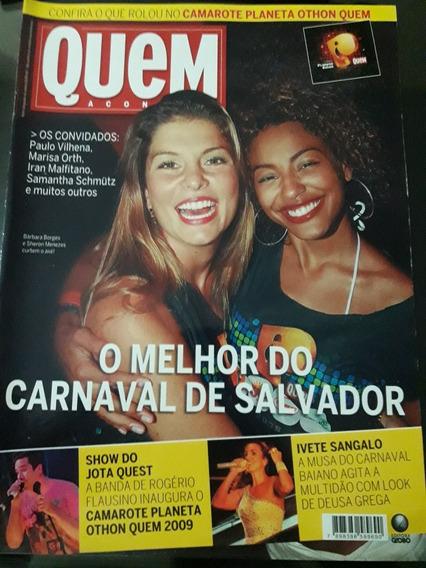 Revista Quem - O Melhor Carnaval De Salvador