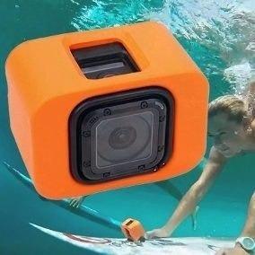 Gopro Floaty Para Hero 4 5 Session Flutuadora Flutuante Bóia
