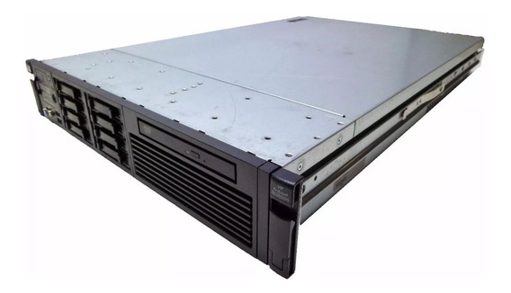 Servidor Hp Dl380 G6 - 2 Fontes 1 Xeon Six - 2 Hd 300gb Sas