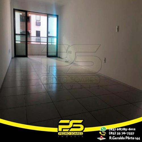 Apartamento Com 3 Dormitórios À Venda, 90 M² Por R$ 350.000 - Tambaú - João Pessoa/pb - Ap2731