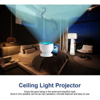 Lámpara Relajante Con El Altavoz Sueño Dormitorio Proyecto