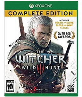 The Witcher 3 Wild Hunt Complete Edition - Xbox One (físico)
