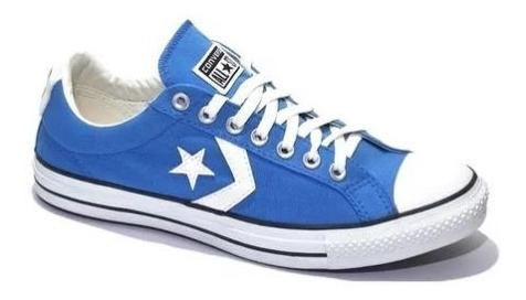 Zapatillas Converse Star Player Ox Celeste !!!