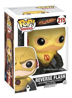 Funko Pop Reverse Flash 215 Orig The Flash Dc Scarletkids