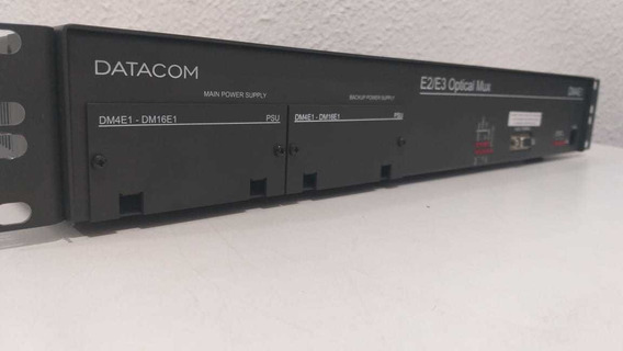 Datacom Dm4e1 Multiplexador Ótico E2/e3 Optical Mux **ler**