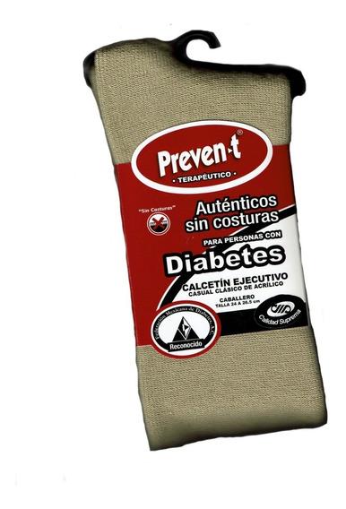 1 Par Calcetines Preven-t Caballero Pie Diabetico Afelpado E