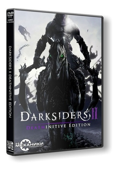 Darksiders 2 Deathinitive Edition - Pc Dvd - Frete 8 Reais