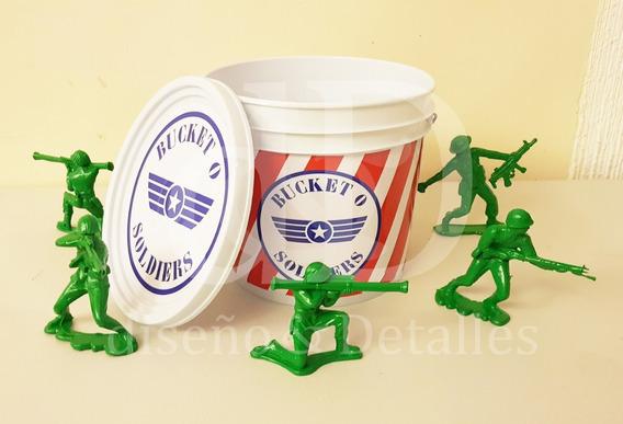 Centros De Mesa Toy Story Cubeta Soldados