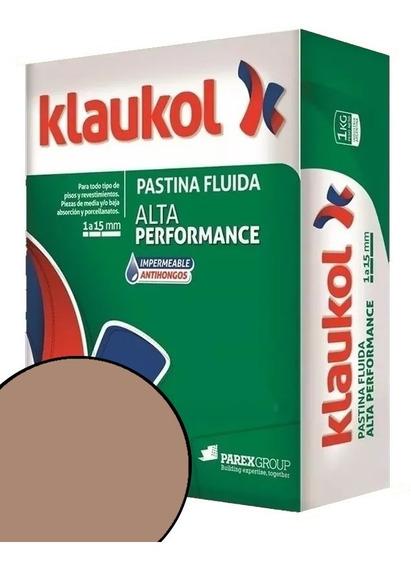 Pastina Klaukol Fluida 1 Kg Chocolate Alta Performance