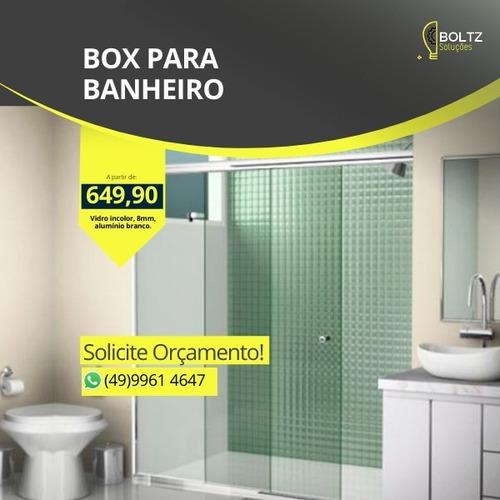 Imagem 1 de 2 de Box Para Banheiro Em Chapecó