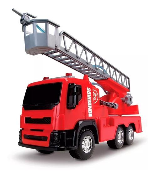 Caminhão Bombeiro Sai Água Roma Jensen Brinquedos Menino