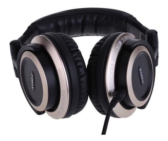 Somic Mm163 Studio Dj Monitor Headphone