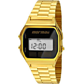 Relógio Mormaii Feminino Vintage Dourado - Mojh02ab/4p