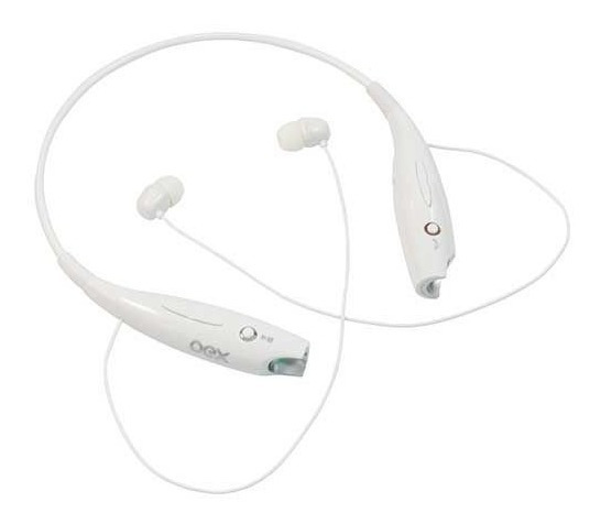 Fone Headset Active Oex Bluetooth Hs300 Branco 485921 25373
