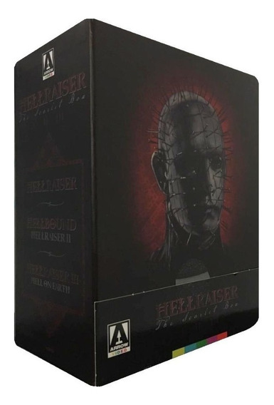 Hellraiser 1 2 3 Boxset Edicion Scarlet Box Pelicula Blu-ray