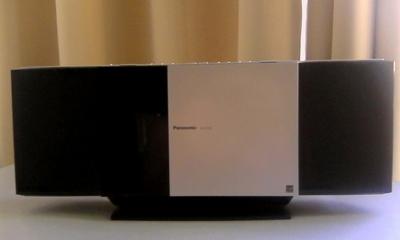 Minicomponente Reproductor Panasonic Sc-hc35 Cd iPad Radio
