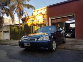 Honda Civic Lx M/t Año 2001, 169.000km Muy Buen Estado!!