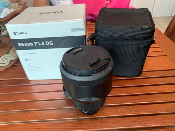 Lente Sigma 85mm F1.4 Dg Hsm Art P/nikon