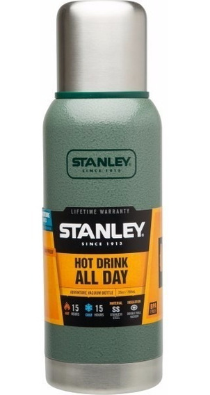 Termo Stanley Adventure 739 Ml Color Verde - Audio Baires
