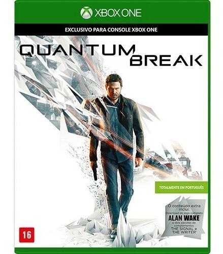Jogo Xbox One Quantum Break - Midia Fisica Original Lacrado