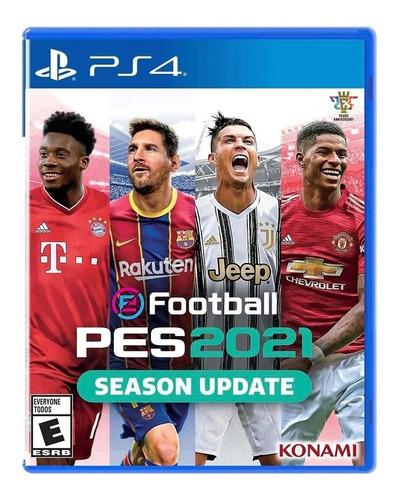 Pes 2021 Pes 21 Ps4 Juego Fisico Playstation 4 Sevengamer