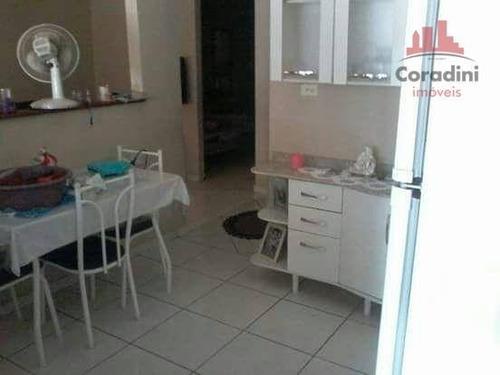 Imagem 1 de 13 de Casa Com 2 Dormitórios À Venda, 70 M² Por R$ 145.000,00 - Cidade Jardim Ii - Americana/sp - Ca1539