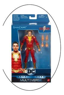 Shazam! Dc Multiverse De Mattel Con 2 Cambios De Maños