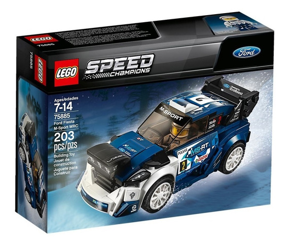 Lego® Speed Champions - Ford Fiesta M-sport Wrc (75885)