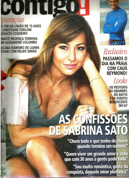 Revista Contigo 1848/2011 - Sabrina/cauã/torloni/maite/luana