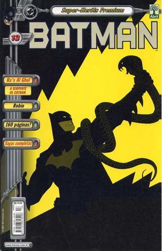 Batman 13 Dc Comics Abril Jovem 2001
