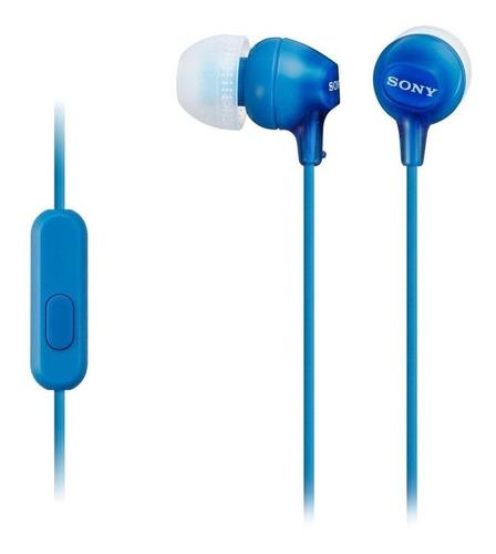 Audífonos In-ear Sony MDR-EX14AP blue