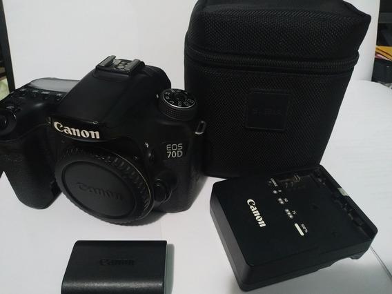 Câmera 70d (corpo)