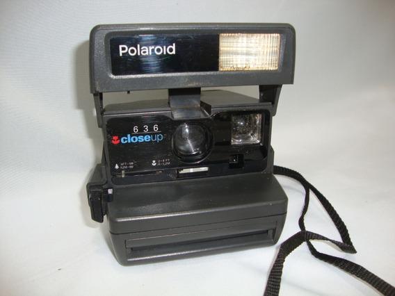 Antiga Camera Polaroid 636 Closeup **decoração Não Funciona***